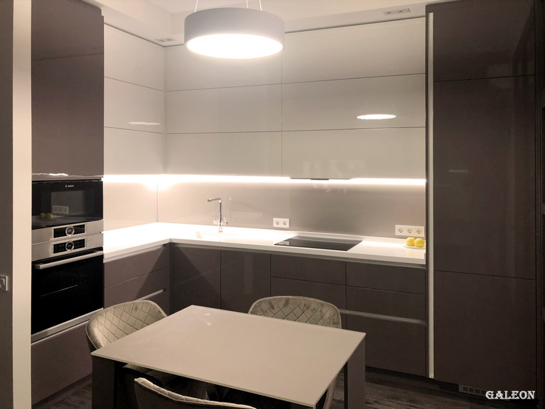 Kitchen and doors for residents of the residential complex «PANORAMA»